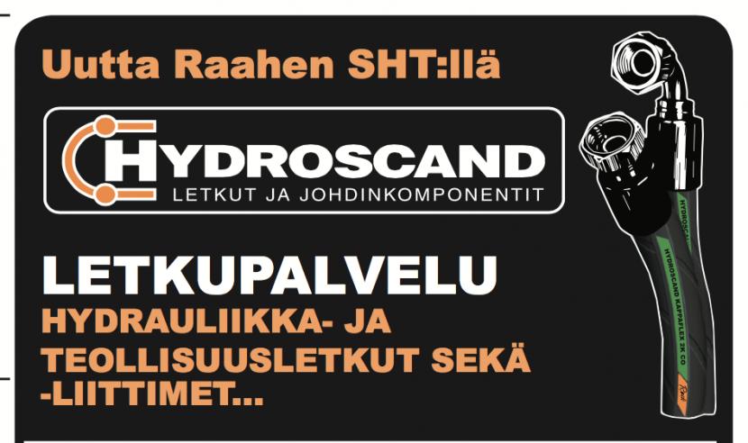Hydroscand letkupalvelu SHT:llä.
